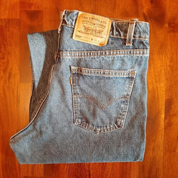 Levi's Other - Levi's 550 Relaxed Fit Jeans - 36x32
